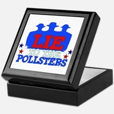 Lie To Pollsters Keepsake Box