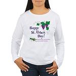 St. Urho's Day Women's Long Sleeve T-Shirt