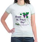 St. Urho's Day Jr. Ringer T-Shirt