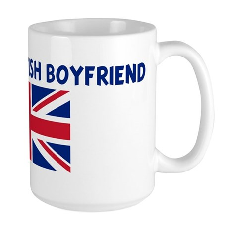 I LOVE MY BRITISH BOYFRIEND Large Mug