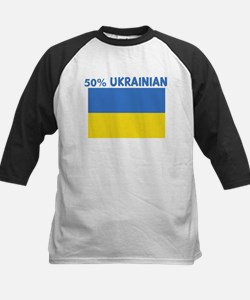 50 PERCENT UKRAINIAN Kids Baseball Jersey