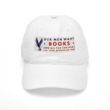 "Vintage ""Our Men Want Books"" Baseball Cap"