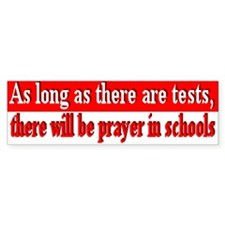 prayer in school Bumper Bumper Sticker