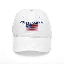 CERTIFIED AMERICAN Baseball Cap