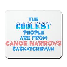 Coolest: Canoe Narrows, SK Mousepad