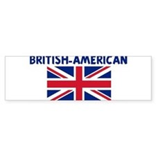 BRITISH-AMERICAN Bumper Bumper Sticker