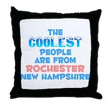 Coolest: Rochester, NH Throw Pillow