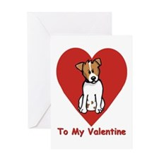 Jack Russell Valentine Card