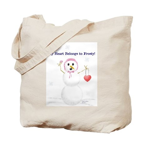 Frosty Love Tote Bag