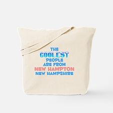 Coolest: New Hampton, NH Tote Bag