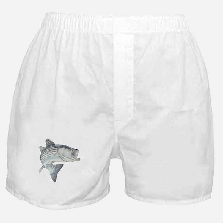 Lunker's Stripe Bass Boxer Shorts