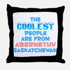 Coolest: Abernethy, SK Throw Pillow