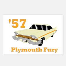 Chrysler Mopar '57 Plymouth F Postcards (Package o