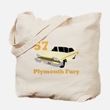Chrysler Mopar '57 Plymouth F Tote Bag