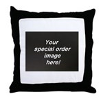 Special Orders Throw Pillow