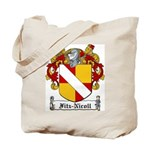 Fitz-Nicoll Family Crest Tote Bag