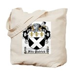 Fitz-Patrick Family Crest Tote Bag