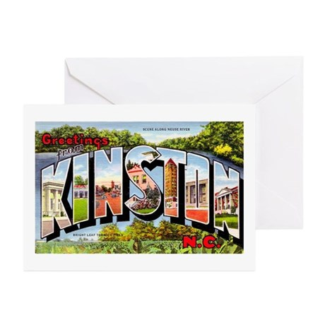 Kinston North Carolina Greetings Greeting Cards (P