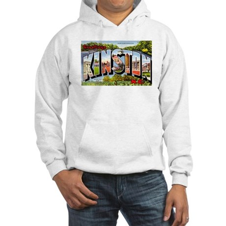 Kinston North Carolina Greetings Hooded Sweatshirt