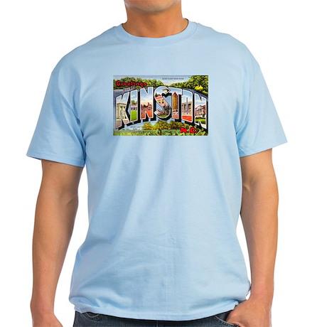 Kinston North Carolina Greetings Light T-Shirt