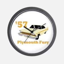 Chrysler Mopar '57 Plymouth F Wall Clock