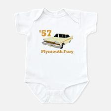Chrysler Mopar '57 Plymouth F Infant Bodysuit