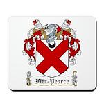 Fitz-Pearce Family Crest Mousepad