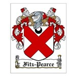 Fitz-Pearce Family Crest Small Poster