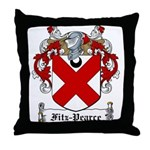 Fitz-Pearce Family Crest Throw Pillow