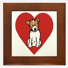 Love Jack Framed Tile