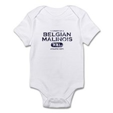 Property of Belgian Malinois Baby Bodysuit