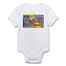 Lawrence Massachusetts Greetings Infant Bodysuit