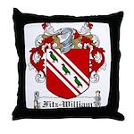Fitz-William Family Crest Throw Pillow