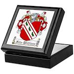 Fitz-William Family Crest Keepsake Box