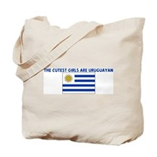 THE CUTEST GIRLS ARE URUGUAYA Tote Bag