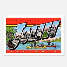 Joliet Illinois Greetings Postcards (Package of 8)