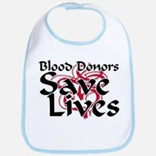 Blood Donors Save Lives Bib