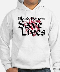 Blood Donors Save Lives Hoodie