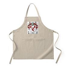 Fox Family Crest BBQ Apron