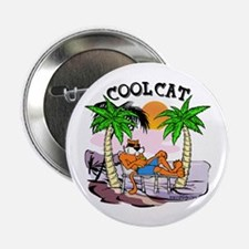 "Cool Cat 2.25"" Button"