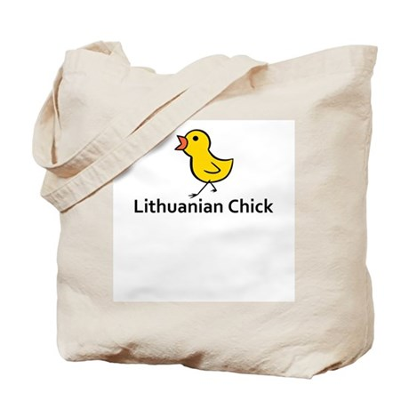Lithuanian Chick Tote Bag