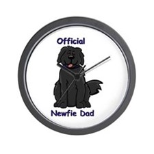 Newfie Dad Wall Clock