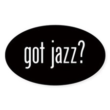 Got Jazz? Oval Decal