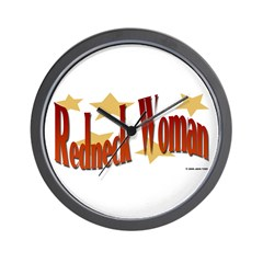 Redneck Woman Wall Clock