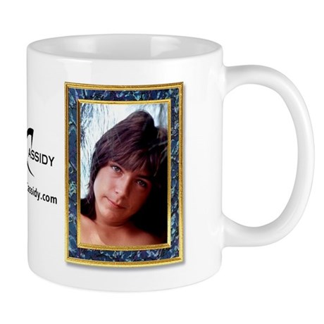 David Cassidy Then & Now Mug