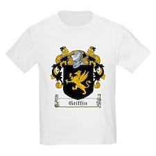 Griffin Family Crest Kids T-Shirt