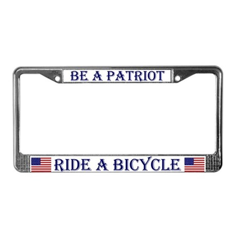 Be a Patriot - Ride a Bicycle