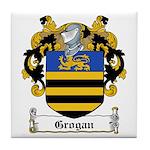 Grogan Family Crest Tile Coaster