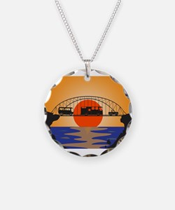 Holiday Vehicles Metal bridg Necklace