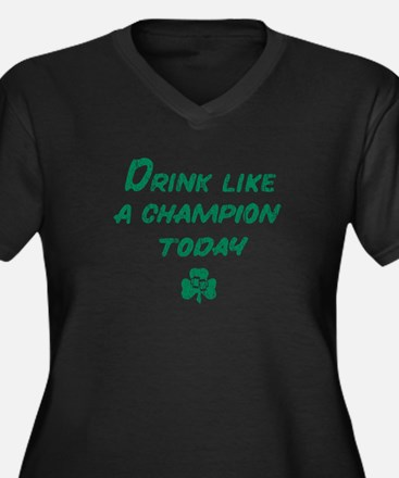 Drink_gr Plus Size T-Shirt